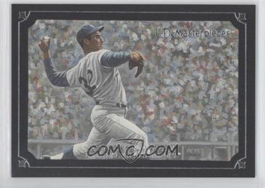 2007 UD Masterpieces - [Base] - Serious Black Frame #26 - Sandy Koufax /99