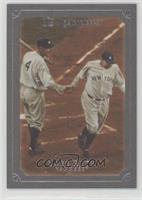 Babe Ruth (Greeted by Lou Gehrig) #/1