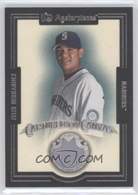 2007 UD Masterpieces - Captured on Canvas #CC-FH - Felix Hernandez