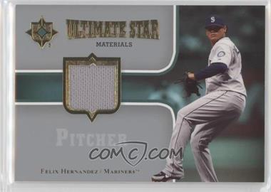 2007 Ultimate Collection - Ultimate Star Materials #SM-FH - Felix Hernandez
