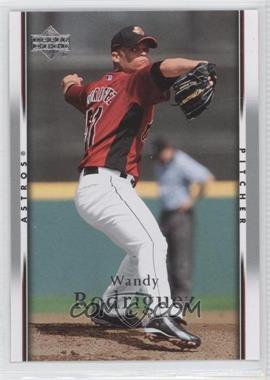 2007 Upper Deck - [Base] #720 - Wandy Rodriguez