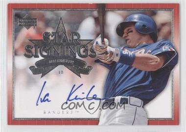 2007 Upper Deck - Star Signings #SS-IK - Ian Kinsler