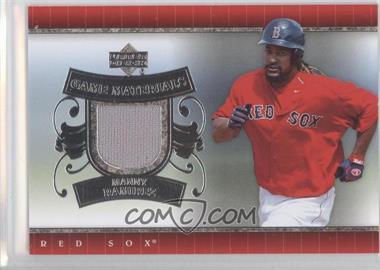 2007 Upper Deck - UD Game Materials #UD-MR.1 - Manny Ramirez (Red Jersey)