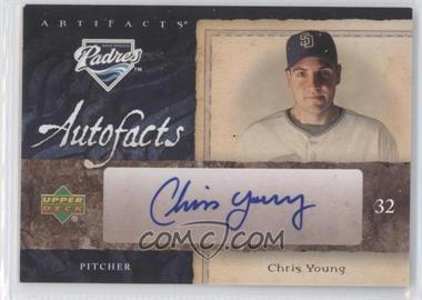 2007 Upper Deck Artifacts - Autofacts #AF-CY - Chris Young