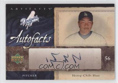 2007 Upper Deck Artifacts - Autofacts #AF-HK - Hong-Chih Kuo