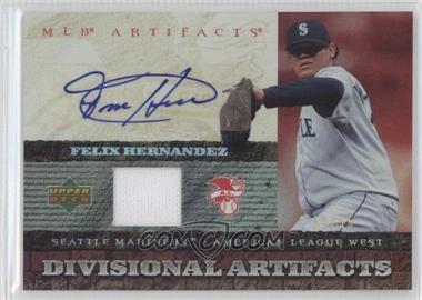 2007 Upper Deck Artifacts - Divisional Artifacts - Autographs [Autographed] #DA-FH - Felix Hernandez /55