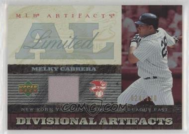 2007 Upper Deck Artifacts - Divisional Artifacts - Limited Edition #DA-ME - Melky Cabrera /130