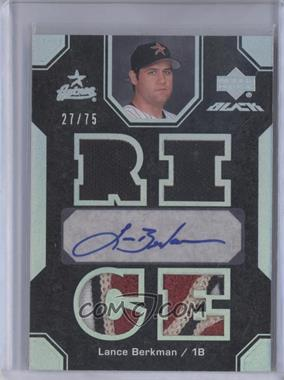 2007 Upper Deck Black - [Base] #20 - Lance Berkman /75