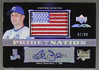 Alex Gordon #/99