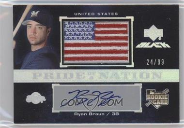 2007 Upper Deck Black Base 66 Ryan Braun 99