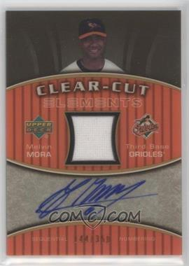 2007 Upper Deck Elements - Clear-Cut Elements - Silver #CCE-MM - Melvin Mora /199