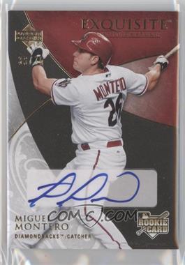 2007 Upper Deck Exquisite Rookie Signatures - [Base] - Gold #119 - Miguel Montero /75