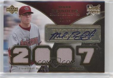 2007 Upper Deck Exquisite Rookie Signatures - [Base] - Gold #178 - Mark Reynolds /99