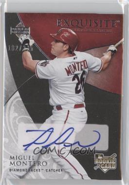 2007 Upper Deck Exquisite Rookie Signatures - [Base] #119 - Miguel Montero /235