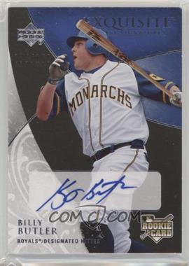 2007 Upper Deck Exquisite Rookie Signatures - [Base] #144 - Billy Butler /150