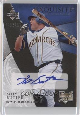 2007 Upper Deck Exquisite Rookie Signatures - [Base] #144 - Billy Butler /150