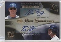 Alex Gordon, Ryan Braun #/25