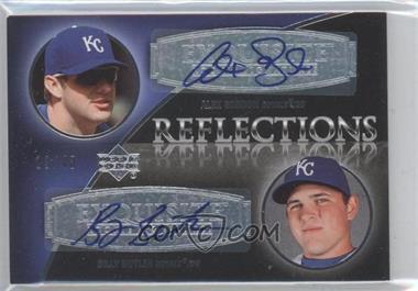 2007 Upper Deck Exquisite Rookie Signatures - Reflections #REF-AB - Alex Gordon, Billy Butler /40