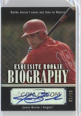 2007 Upper Deck Exquisite Rookie Signatures - Rookie Biography - Silver Spectrum #ERB-BU - Jason Bulger /10