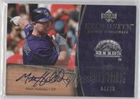 Matt Holliday /20