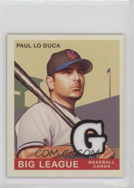 2007 Upper Deck Goudey - [Base] - Memorabilia [Memorabilia] #82 - Paul Lo Duca