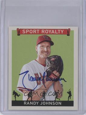 2007 Upper Deck Goudey - Sport Royalty - Autographs [Autographed] #SR-RJ - Randy Johnson