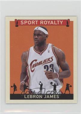 2007 Upper Deck Goudey - Sport Royalty #SR-LJ - Lebron James