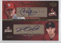 Chris Carpenter, Roy Oswalt /25
