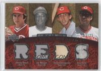 Tony Perez, Johnny Bench, Joe Morgan, Dave Concepcion /25