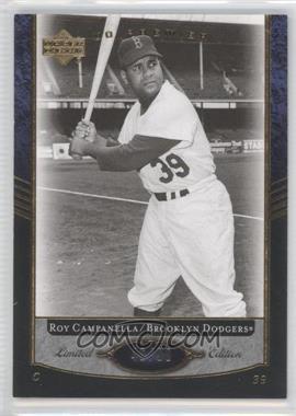 2007 Upper Deck Premier - [Base] #1 - Roy Campanella /99