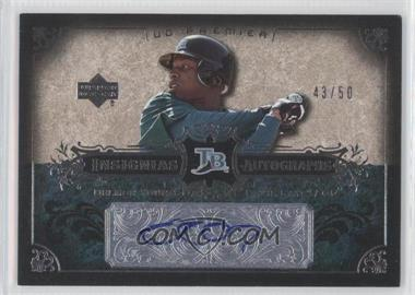 2007 Upper Deck Premier - Insignias Autographs #IN-DY - Delmon Young /50