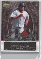 Manny Ramirez (Number) #/75