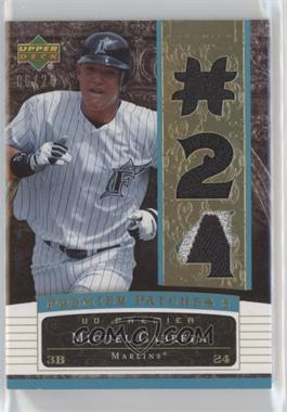 2007 Upper Deck Premier - Premier Patches 3 - Gold #PP3-MC.2 - Miguel Cabrera (#24) /24
