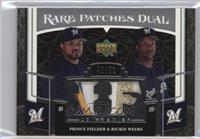 Prince Fielder, Rickie Weeks /50