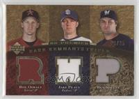 Roy Oswalt, Jake Peavy, Ben Sheets /25