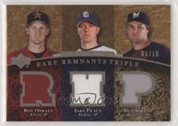 Roy Oswalt, Jake Peavy, Ben Sheets #/10
