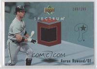 Aaron Rowand #/199