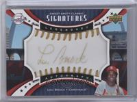 Lou Brock [Noted] #/25