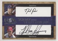 David Price, Matt Harvey #/295