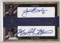Michael Main, Julio Borbon /150