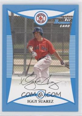 2008 Bowman - Prospects - Blue #BP56 - Iggy Suarez /500