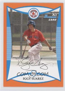 2008 Bowman - Prospects - Orange #BP56 - Iggy Suarez /250