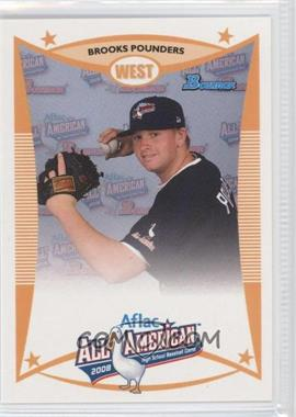 2008 Bowman Aflac - [Base] #AFLAC-BP - Brooks Pounders