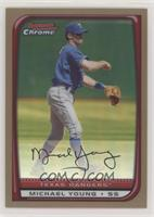 Michael Young #/50