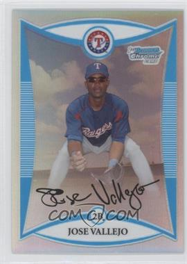 2008 Bowman Chrome - Prospects - Refractor #BCP215 - Jose Valverde /500