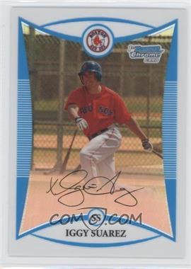 2008 Bowman Chrome - Prospects - Refractor #BCP56 - Iggy Suarez /599