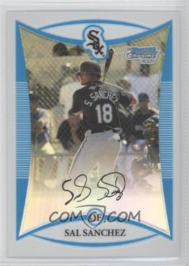 2008 Bowman Chrome - Prospects - Refractor #BCP83 - Sal Sanchez /599