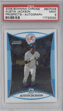 2008 Bowman Chrome - Prospects #BCP246 - Prospect Autographs - Austin Jackson [PSA9]