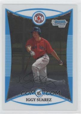 2008 Bowman Chrome - Prospects #BCP56 - Iggy Suarez