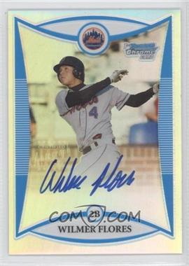 2008 Bowman Draft Picks & Prospects - Prospects - Chrome Refractor #BDPP111 - Wilmer Flores /500